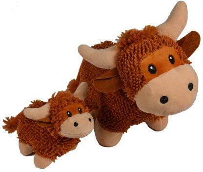 Highland Cow / Hochlandrind Stofftier
