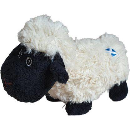 Stofftier Schaf mit Schottland-Flagge