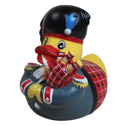 Badeente Gummiente schottischer Dudelsackspieler