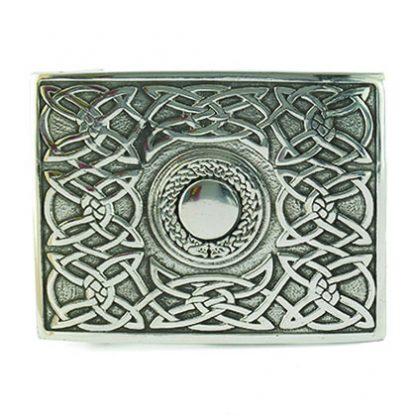 Gürtelschnalle Kilt keltisch