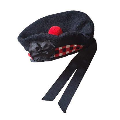 Balmoral Kopfbedeckung Highland Dress kariert